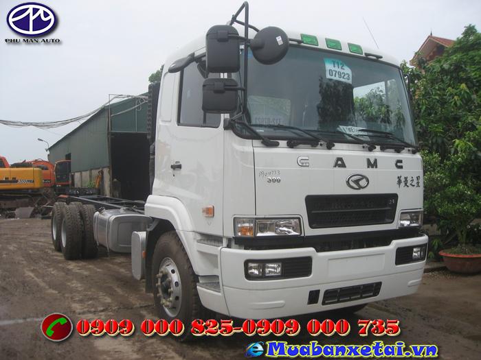 Xe tải Camc 3 chân 14.9 tấn