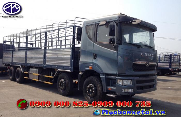 Ngoại thất xe tải Camc 4 chân 17.9 tấn
