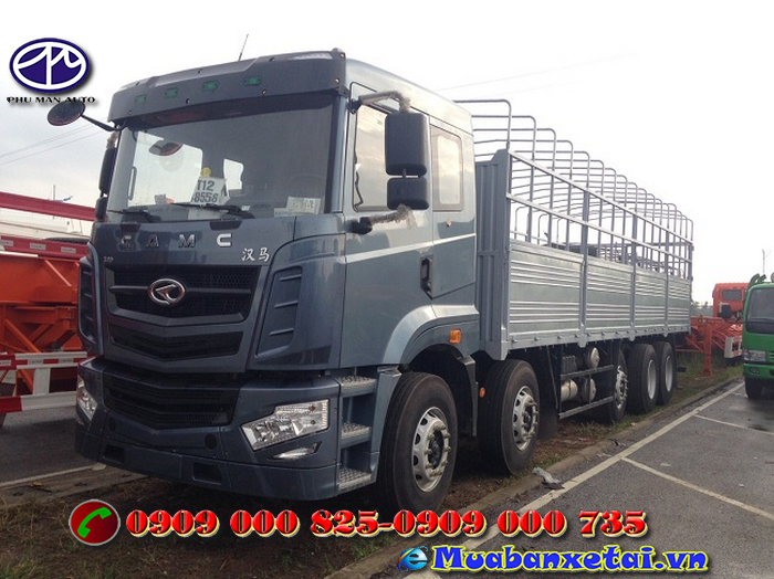 Xe tải Camc 5 chân 22 tấn