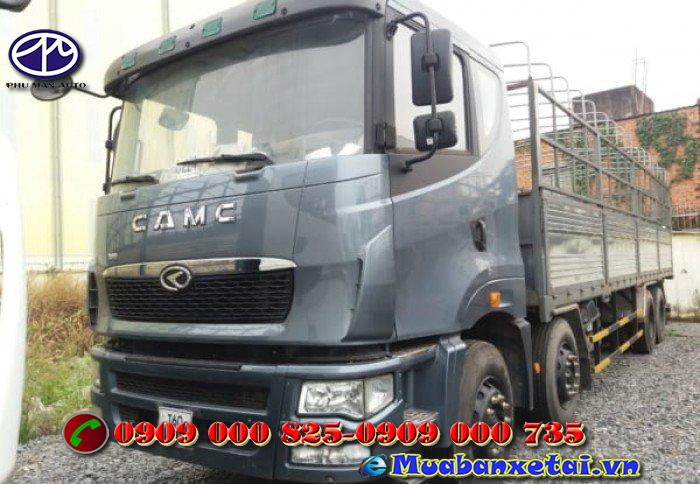 Động cơ xe tải Camc 5 chân 22 tấn