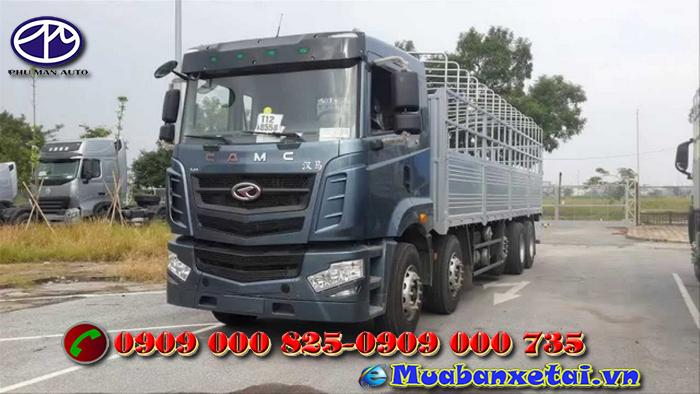 Ngoại thất xe tải Camc 5 chân 22 tấn