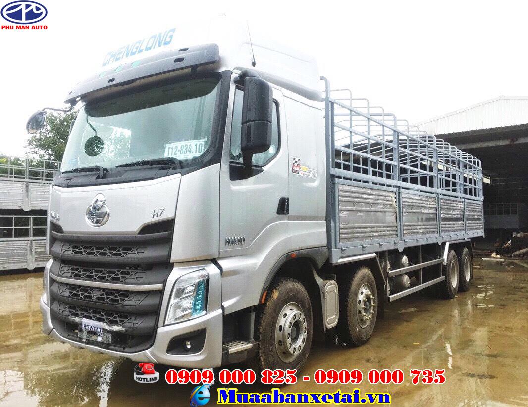 Xe tải Chenglong 4 chân tải 17.9 tấn