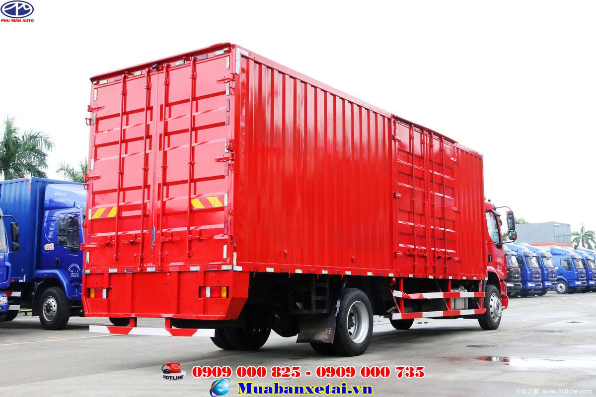 Xe tải chenglong 9 tấn thùng dài 8m3