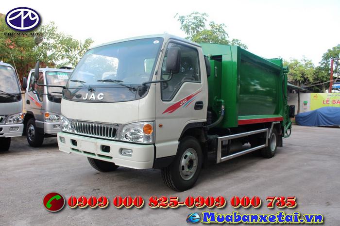 Xe ép rác 9 khối Jac  là dòng xe chuyên dung mang lại  môi trường sạch đẹp
