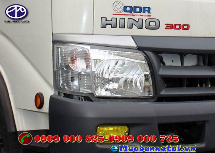 Đèn xe ép rác Hino 6 khối WU342L