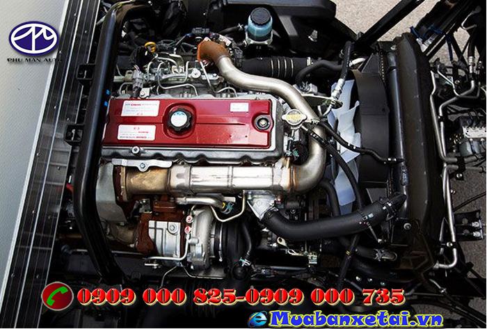 Động cơ xe ép rác Hino 6 khối WU342L