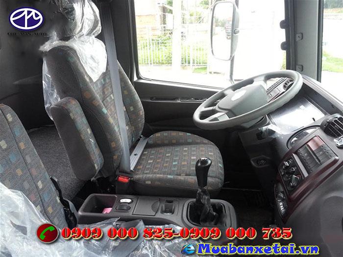 Nội thất xe đông lạnh Hyundai HD210