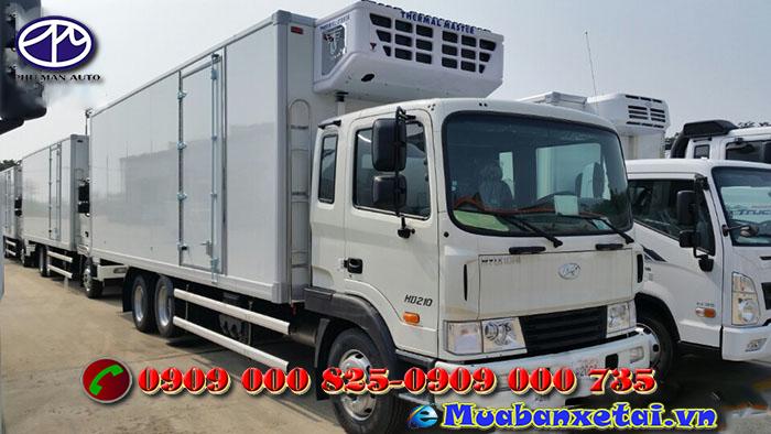 Ngoại thất xe đông lạnh Hyundai HD210