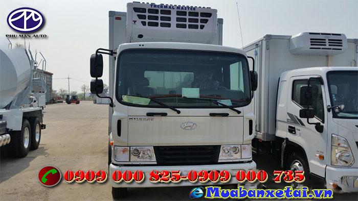 Đèn xe đông lạnh Hyundai HD210