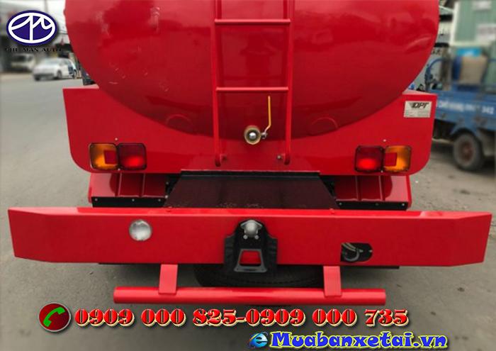 Động cơ xe tưới nước rửa đường Hino 6 khối