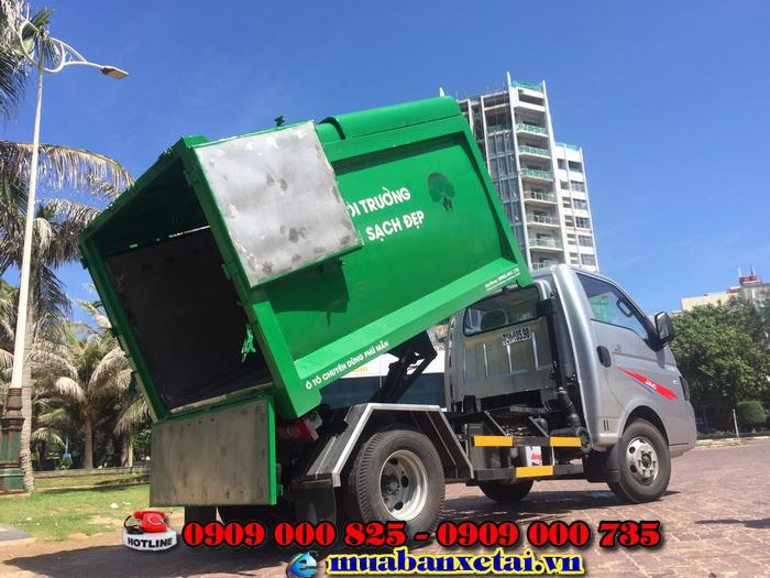 Xe Jac X150 – Ép rác với lớp thép có có độ dày 1.5 ly