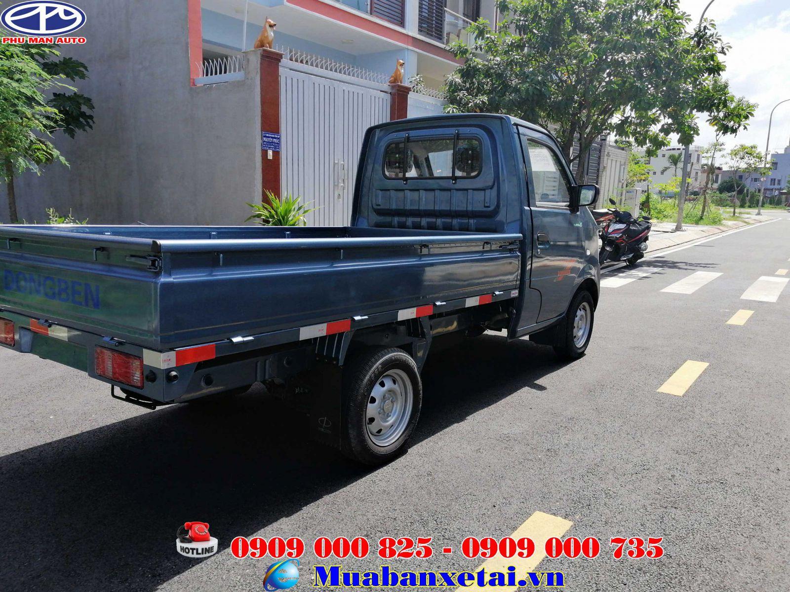 Xe Tải Dongben 870Kg - Thùng Lửng
