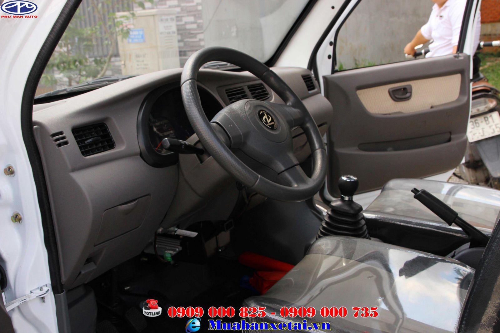 Xe tải Dongben 870kf thùng lửng