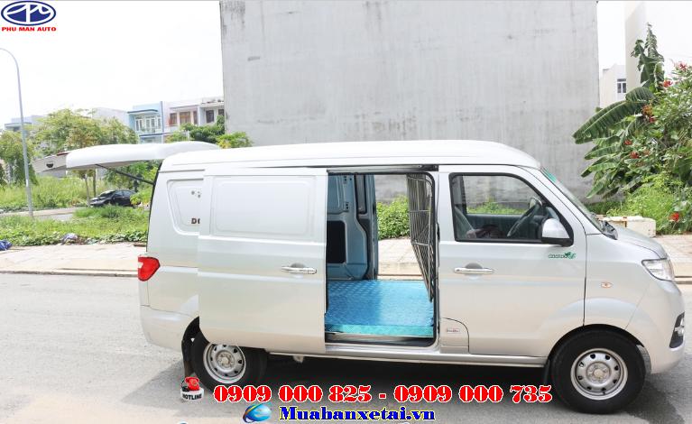 Xe tải van dongben 950kg 2 chỗ ngồi