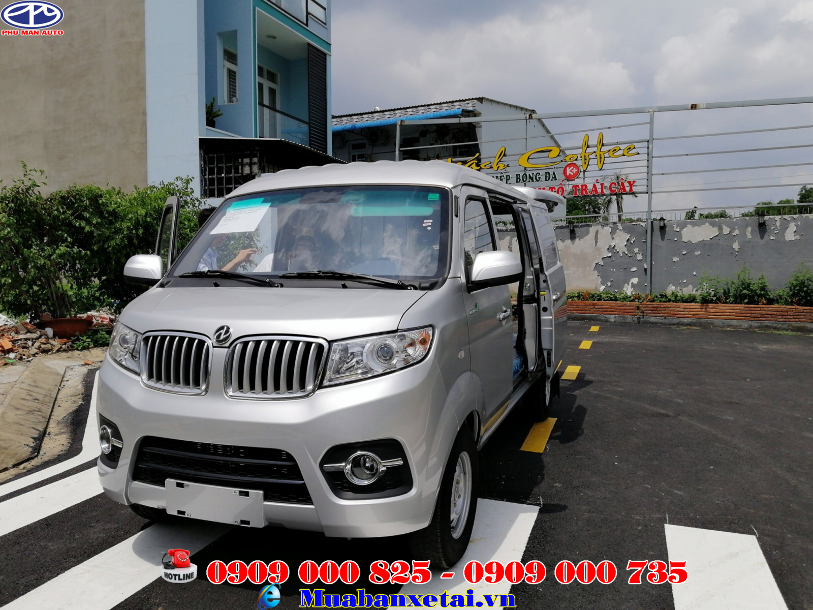 Xe tải dongben 2 chỗ ngồi 950kg