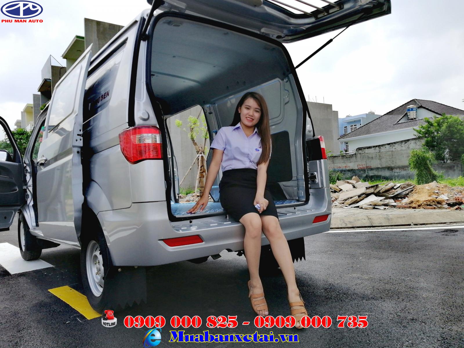 Xe tải Dongben x30 2 chỗ ngồi