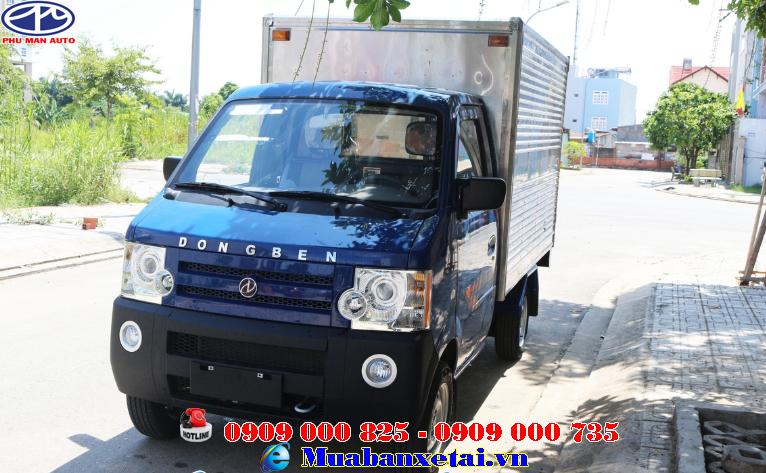 Đầu xe Dongben 770kg thùng kín