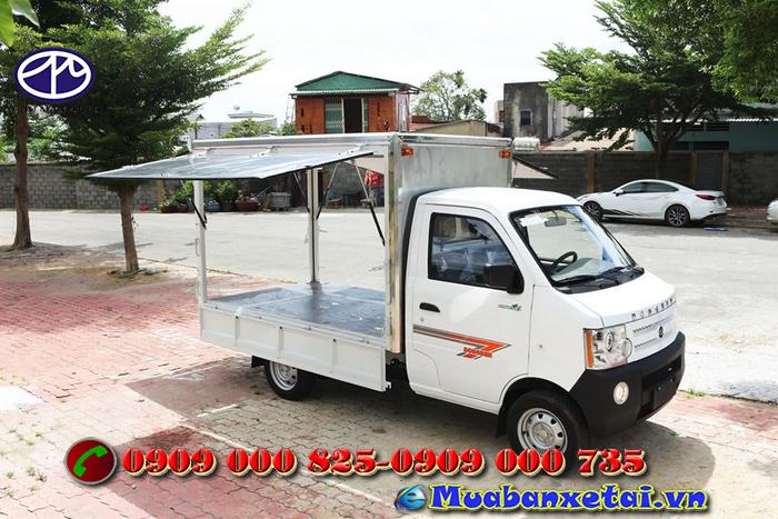 Xe tải Dongben 770kg Thùng Cánh Dơi