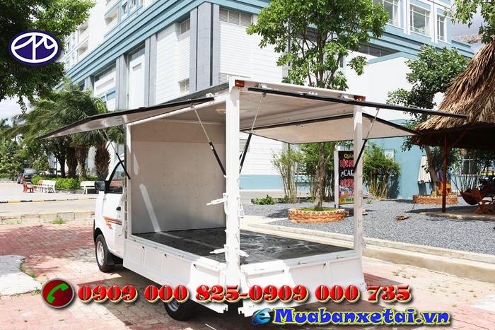 Xe tải Dongben 770kg Thùng Cánh Dơi động cơ sửu dụng công nghệ hoa kỳ, tiết kiệm nhiê liệu