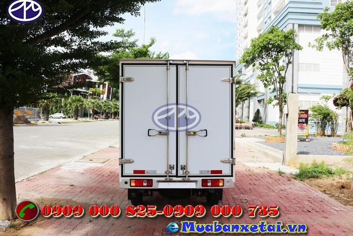 Xe tải Dongben thùng kín 790kg