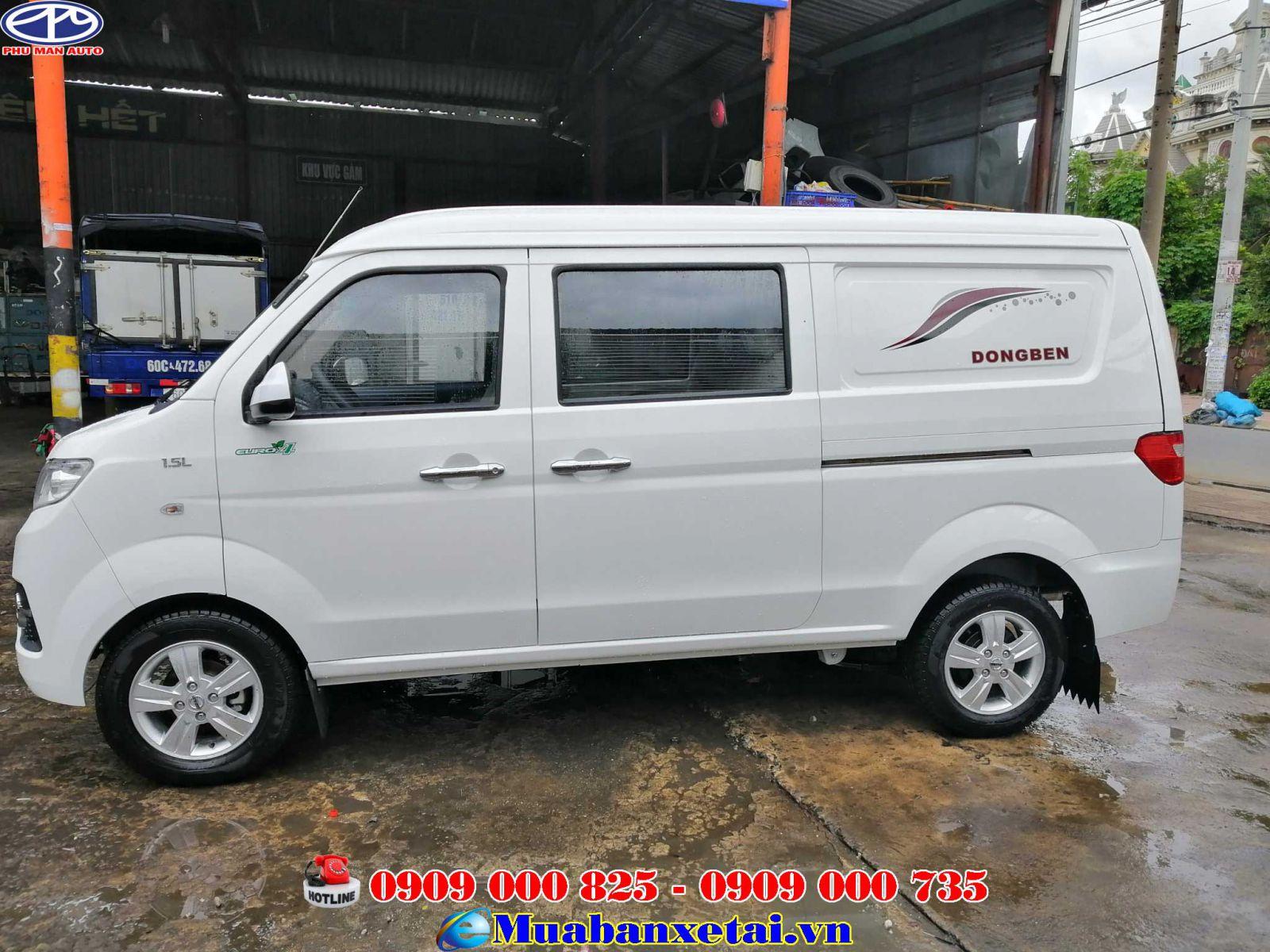Xe tải Dongben 5 chỗ ngồi 490kg