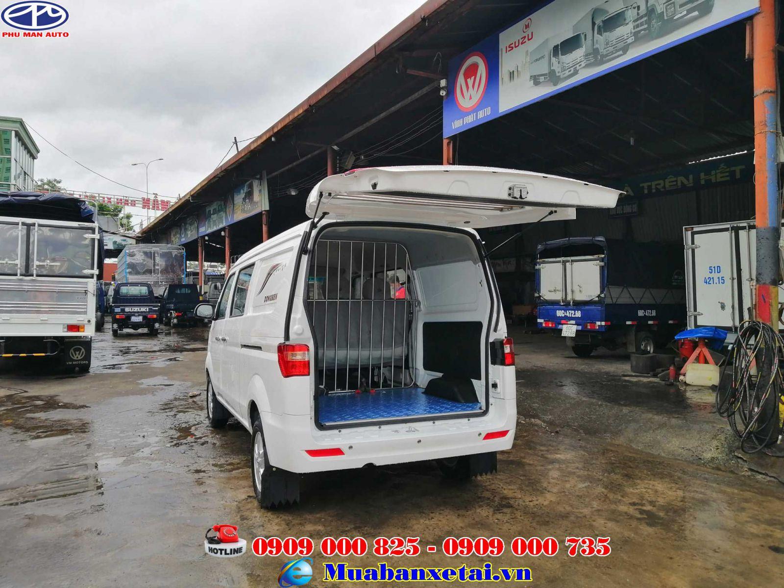 Xe tải Dongben 5 chỗ ngồi