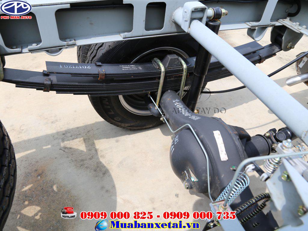 Xe tải Dongben Q20 1t9 thùng kín
