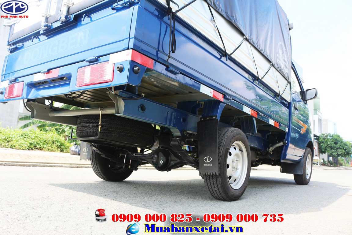 Xe tải Dongben 81kg thùng bạt