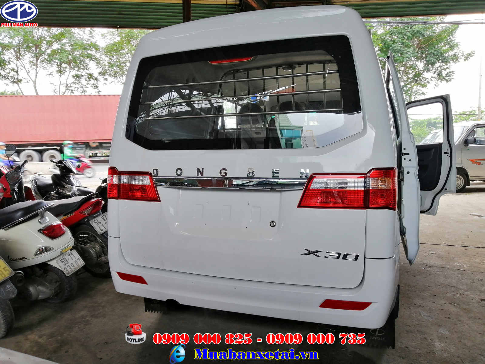 Xe tải van Dongben 5 chỗ ngồi 695kg X30 V5