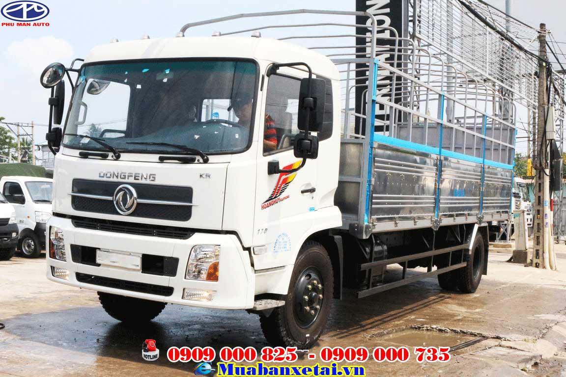 Xe tải dongfeng b170 màu vàng