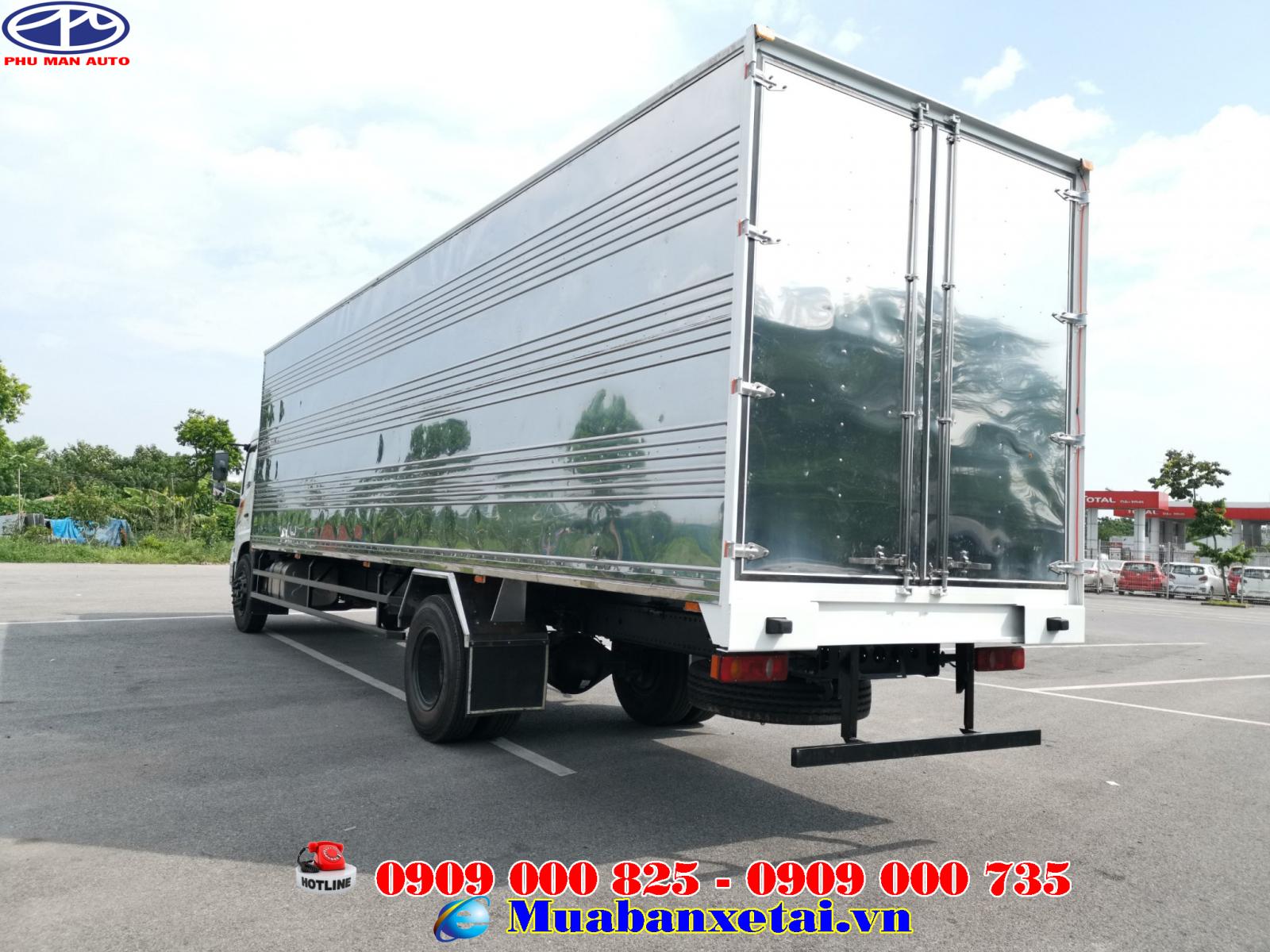 Xe tải Dongfeng 8 tấn thùng kín