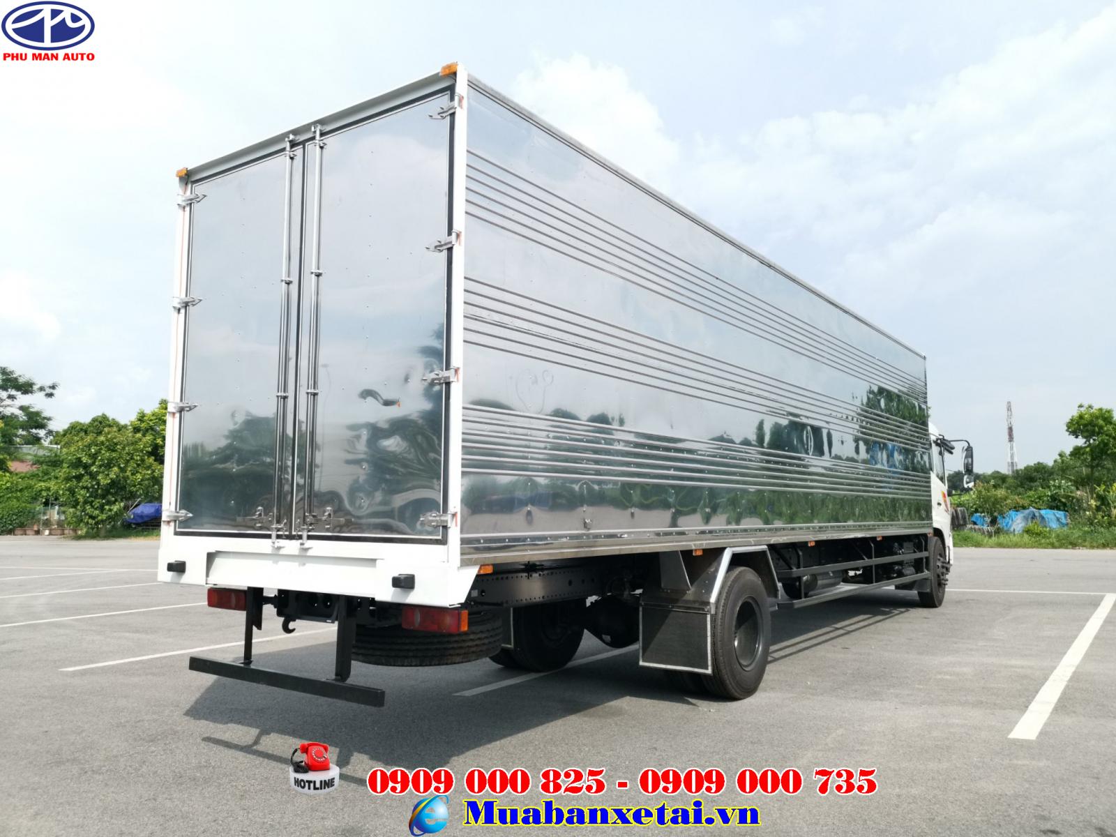Xe tải dongfeng 8 tấn thùng 9m7