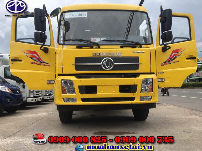 Xe tải Dongfeng B180 thùng dài 9.5m