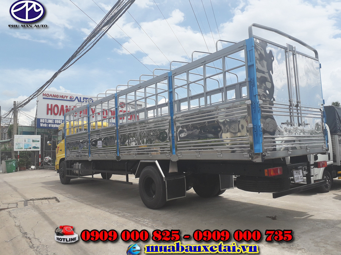 Xe tải Dongfeng B180 thùng mui bạt