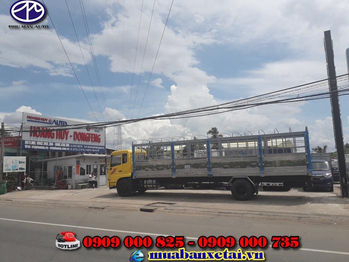 Thung xe tải Dongfeng B180 dài 9.5 mét