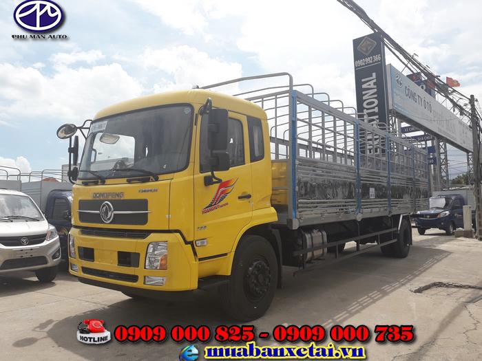 Ngoại thất xe tải Dongfeng B180