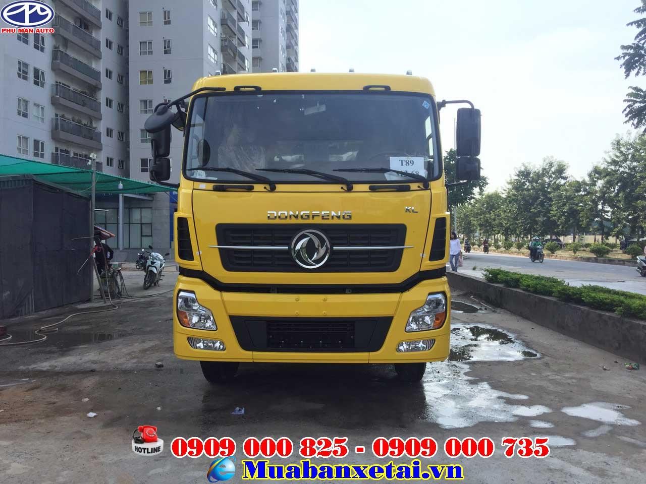 Xe tải Dongfeng ISL315 thùng dài 9m5