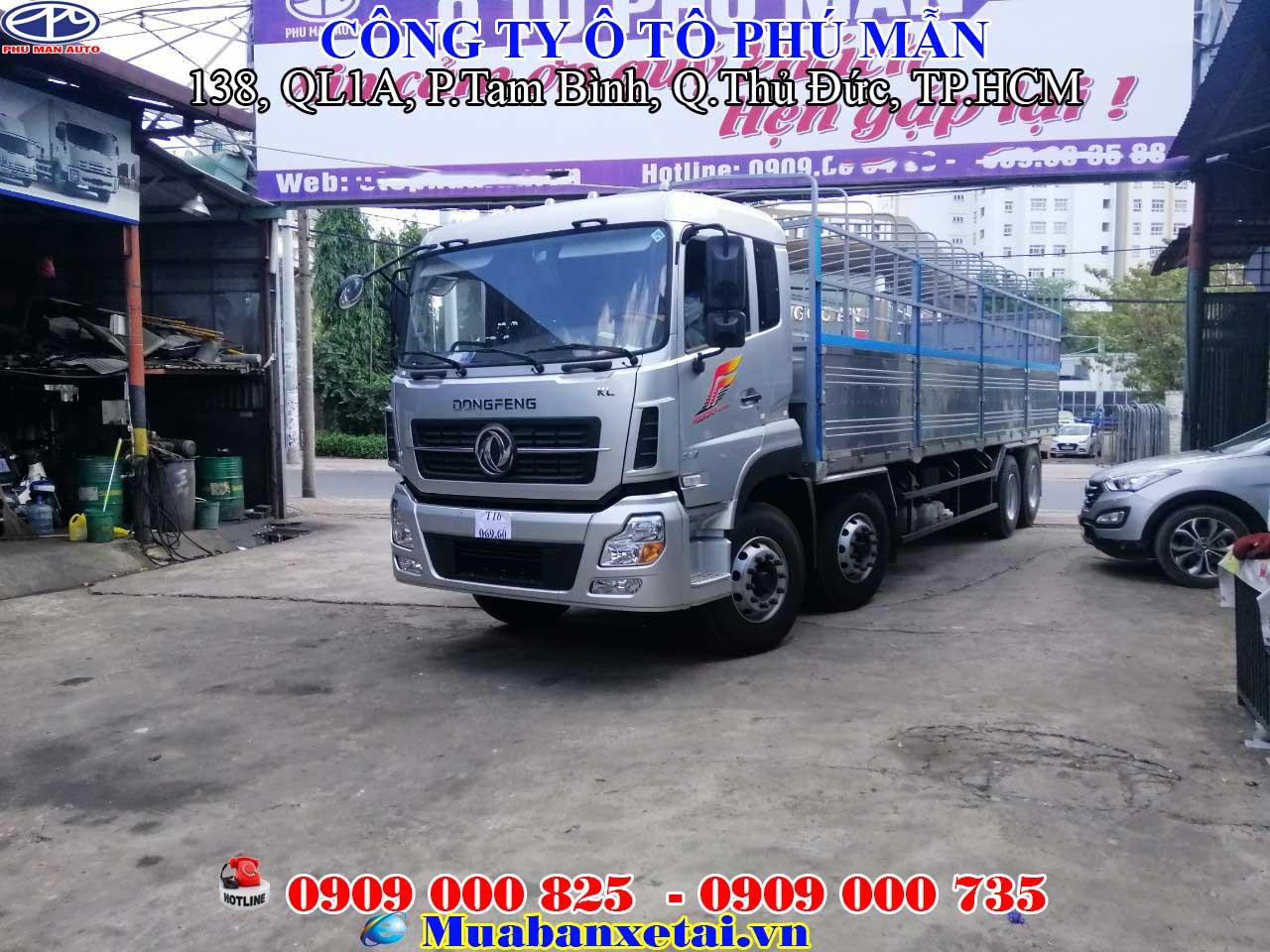 Xe Tải Dongfeng 4 Chân |Dongfeng Hoàng Huy YC310