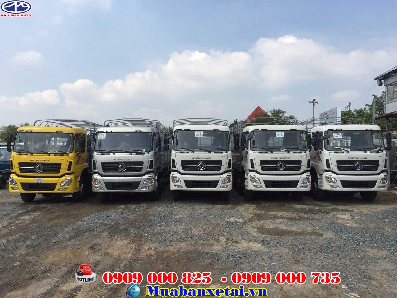 Xe tải Dongfeng YC310 4 chân