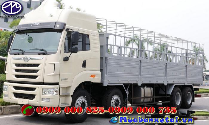 Xe tải Faw 4 chân - 17.990kg thùng mui bạt