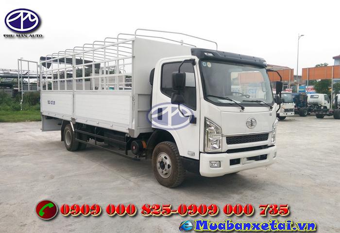Toàn cảnh xe tải faw 6.7 tấn