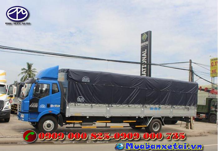 Toàn cảnh xe tải faw 8 tấn