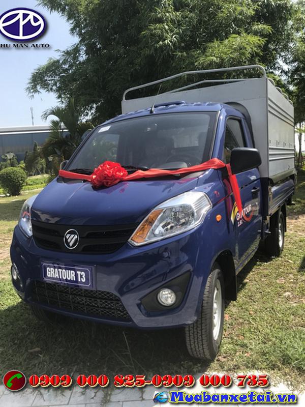 xe tải Foton 995kg thùng mui bạt