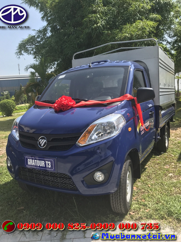 Xe tải Foton 995kg thùng mui bạt không gian cabin rộng rãi