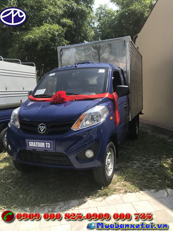 Xe tải Foton 995kg thùng kín với động cơ vô cùng chất lượng và mạnh mẽ