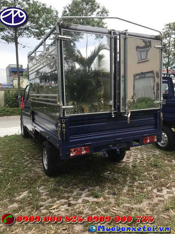 Xe tải Foton 995kg thùng kín được đánh giá cao về chất lượng