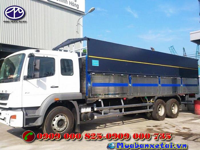 Ngoại thất xe tải Fuso 3 chân 15 tấn