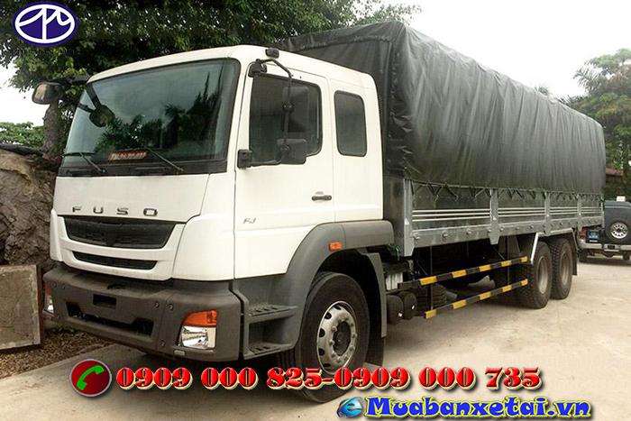 Động cơ xe tải Fuso 3 chân 15 tấn