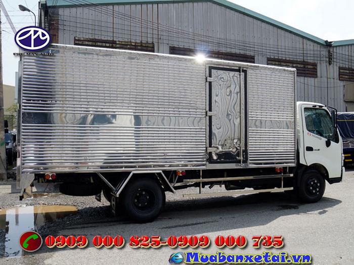 Ngoại thất xe tải Hino 3.5 tấn