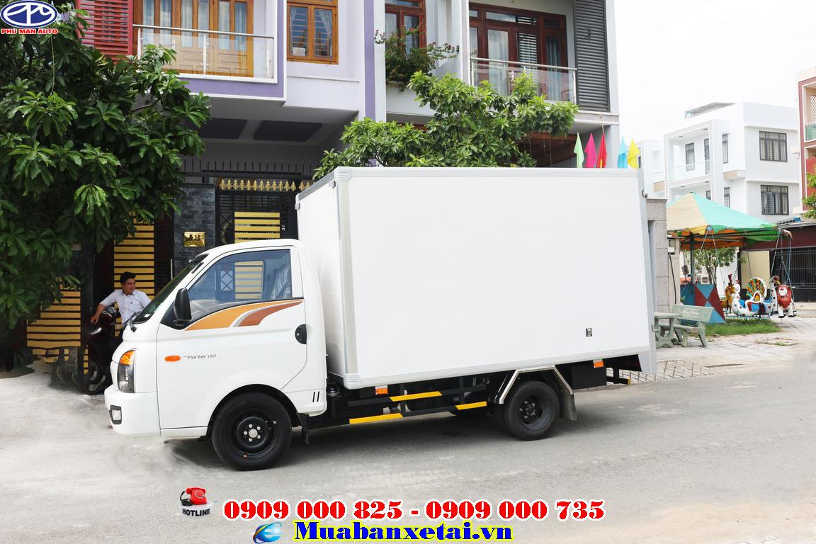 2 cửa thùng cho xe tải hyundai 1.5 tấn
